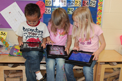 The Avery County public school system has assigned every child a laptop or a tablet