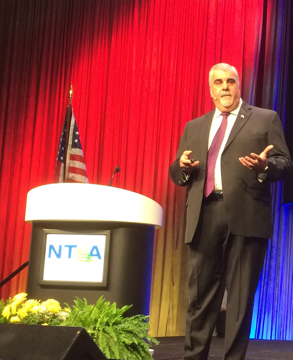 FirstNet General Manager D'Agostino presenting at NTCA